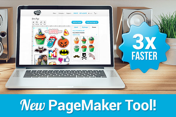 StickerYou.com Pagemaker tool