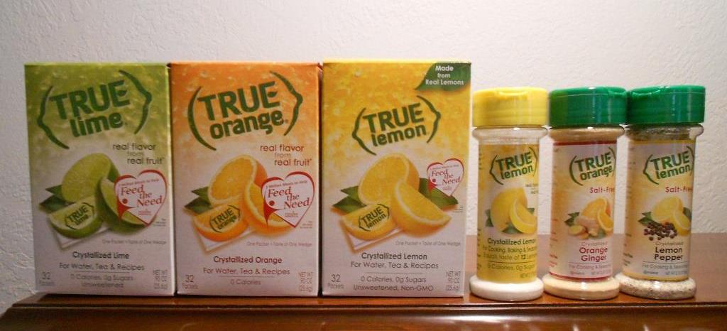 rue Citrus Products Crystallized Lemon, Orange, Lime and Seasoning Blends
