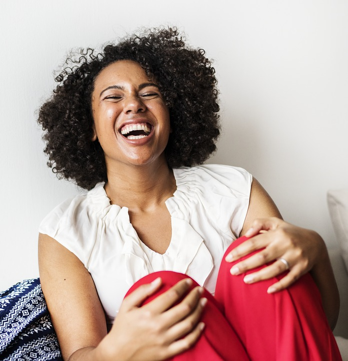 Why Laughing at Yourself Can Improve Your Life Laughing Woman
