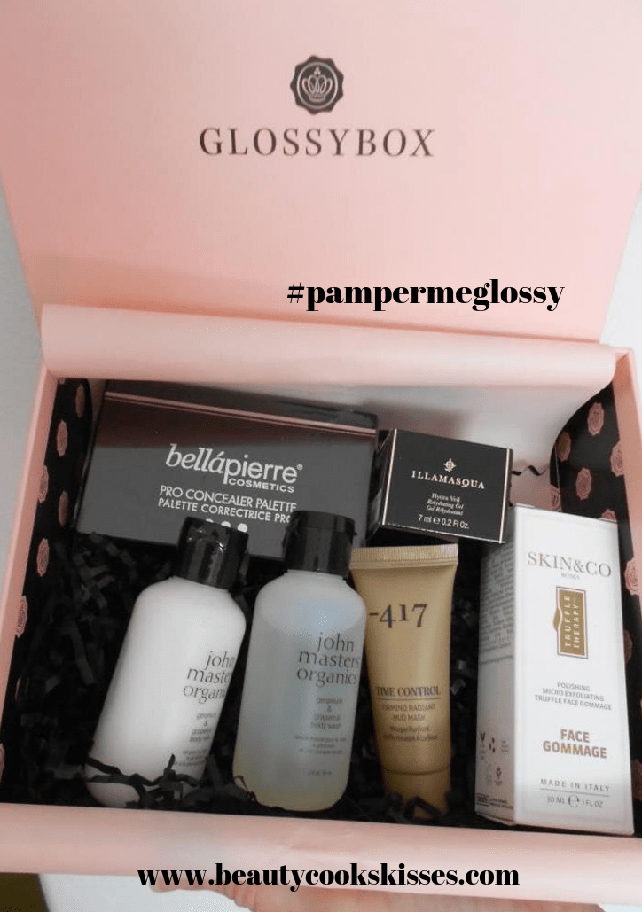 Glossybox October 2019 #pampermeglossy