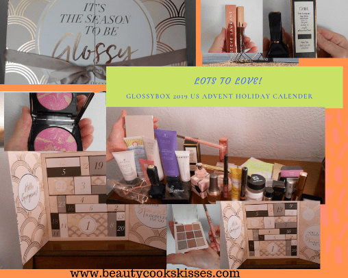 Glossybox 2019 US Advent Calender Lots to love!