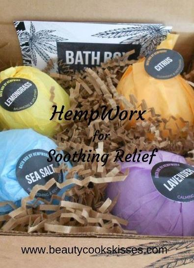 HempWorx for soothing relief