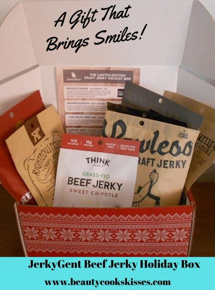 JerkyGent Beef Jerky Holiday Box A Gift That Brings Smiles!