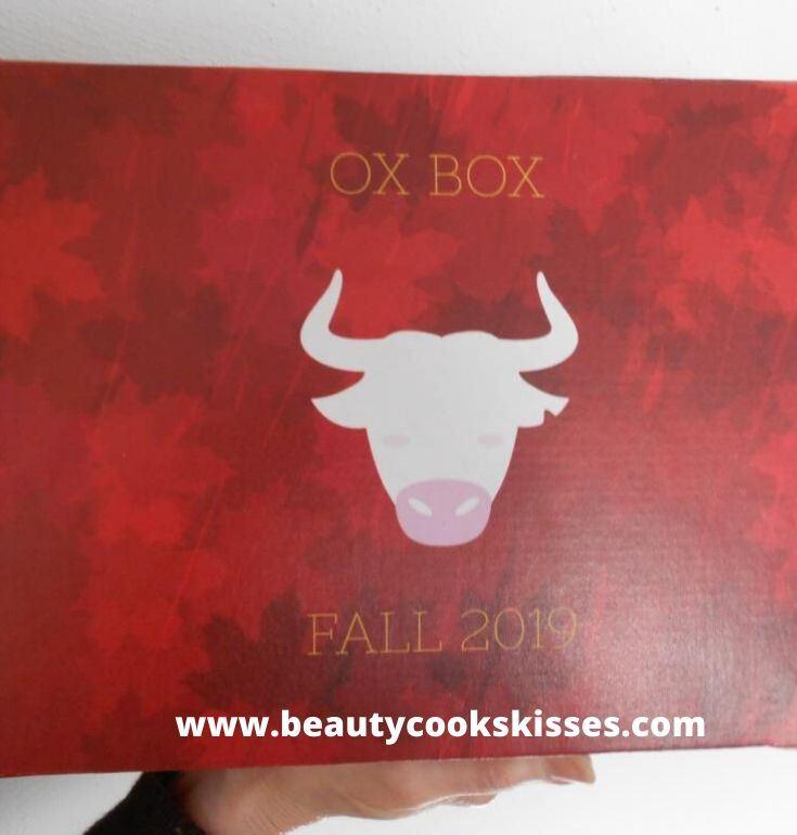 Skincare Ox Box outside