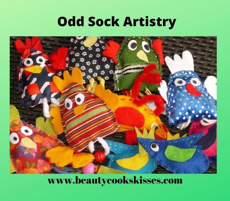 Odd Sock Artistry Sock Puppets