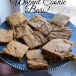 Walnut Cookie Bars