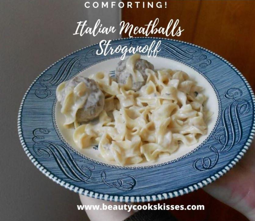 Italian Meatballs Stroganoff