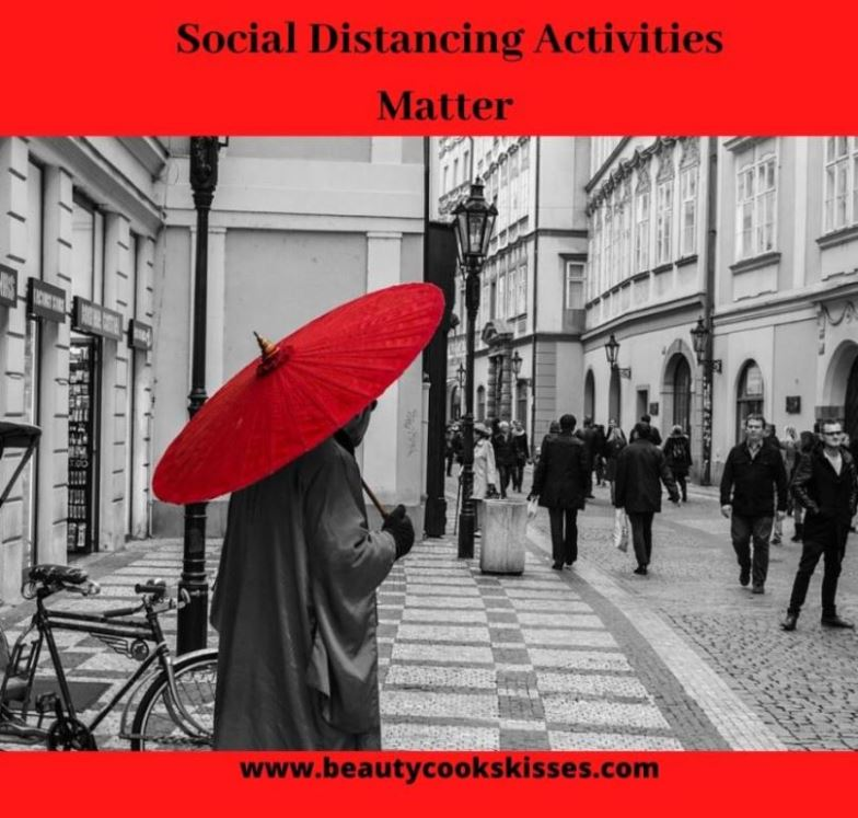 social distancing activities in crowds