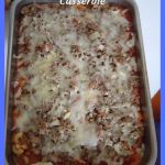 Easy Pizza Burger Casserole