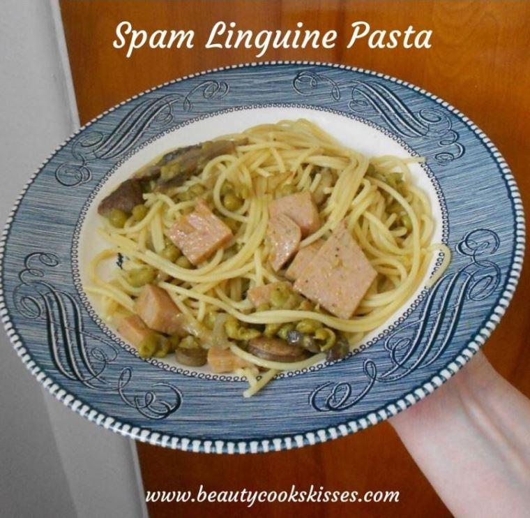 Spam Linguine Pasta