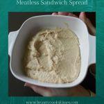 Meatless Sandwich Spread