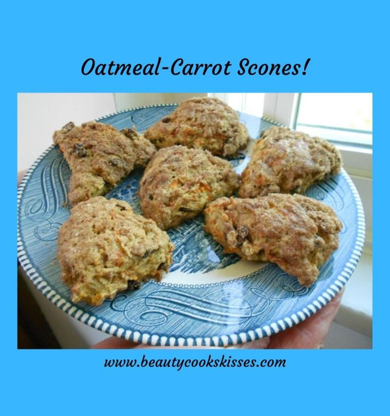 Oatmeal-Carrot Scones