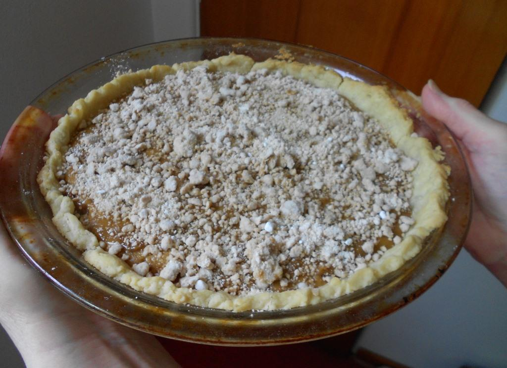 Peanut-Butter-Cream-Pie with Coffee