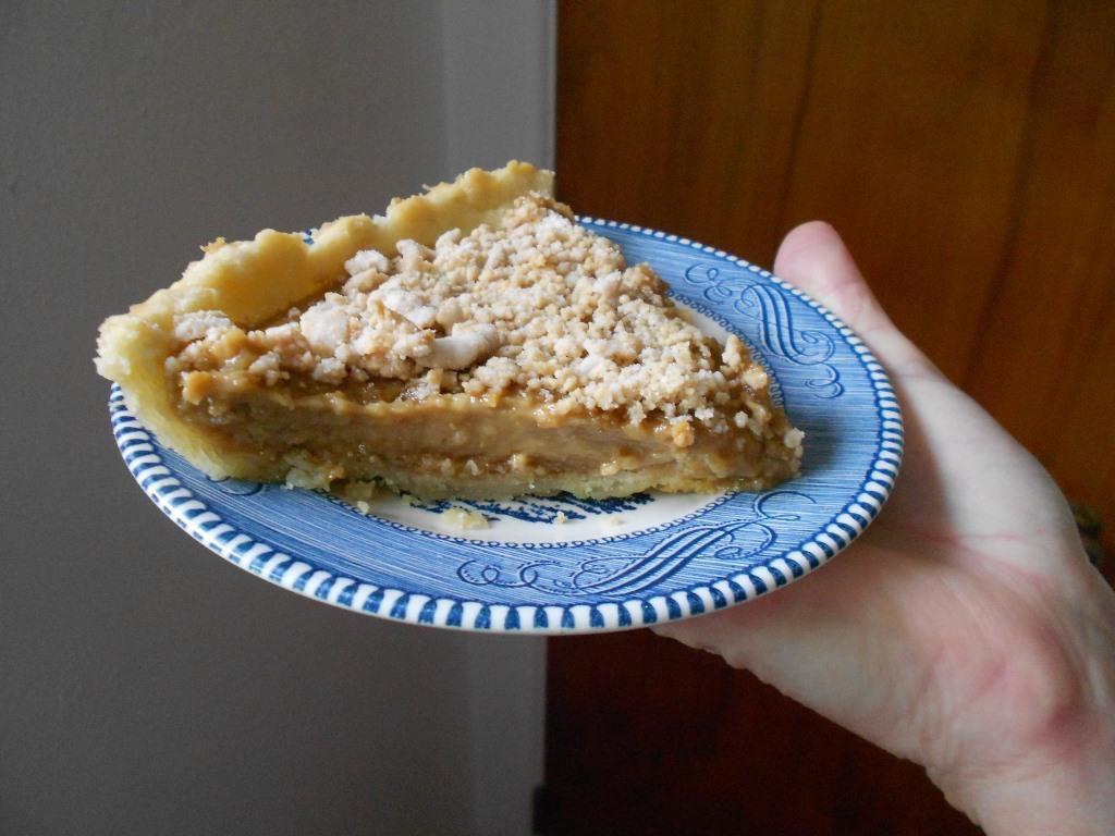 Peanut-Butter-Cream-Pie With Coffee-Piece