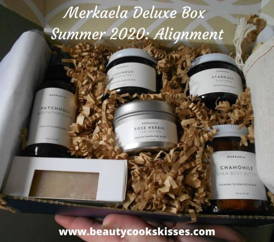Markaela Deluxe Box Review Summer 2020--Alignment