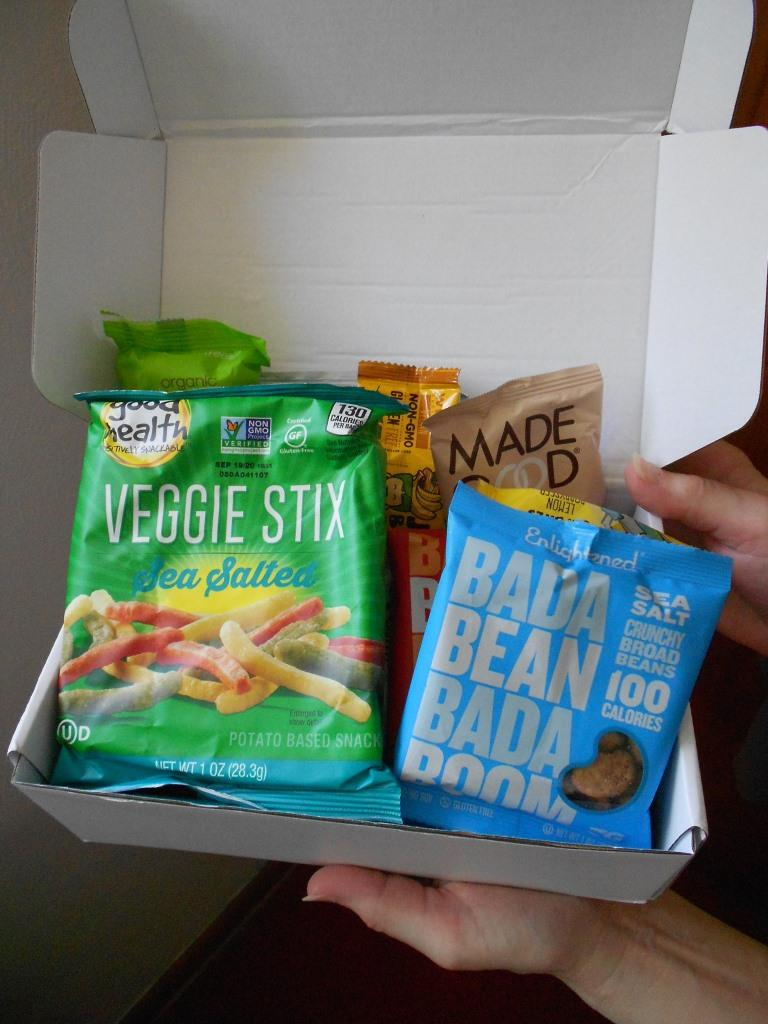 elevate snack box opened