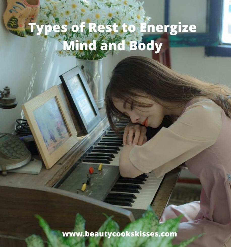 Types of Rest to Energize Woman Resting