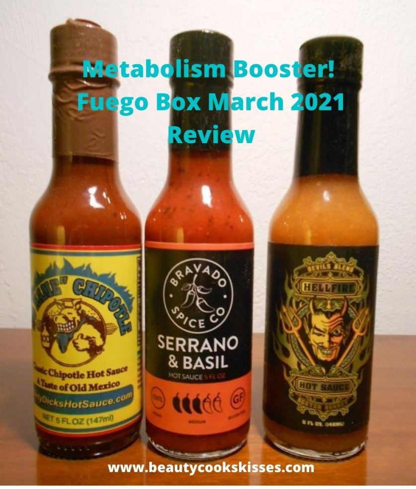 Metabolism Booster Fuego Box Hot Sauce