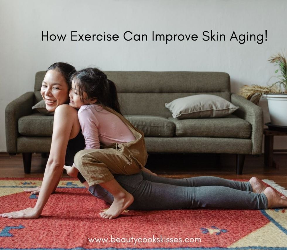how exercise can improve skin aging