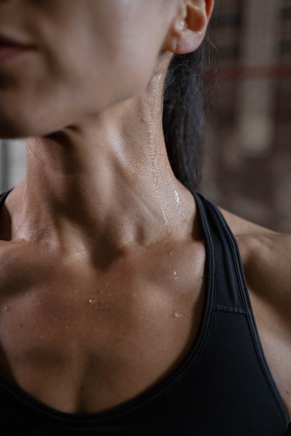 Excessive Sweating Woman