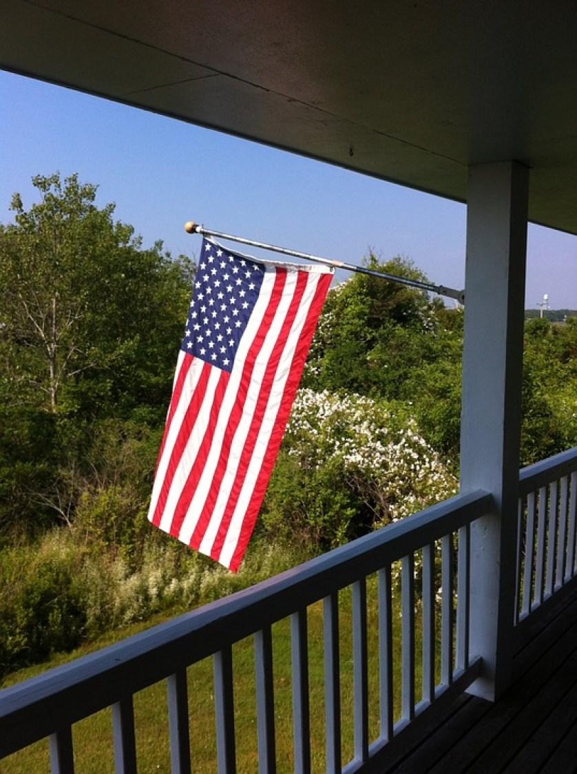 Patriotism  Flag Display