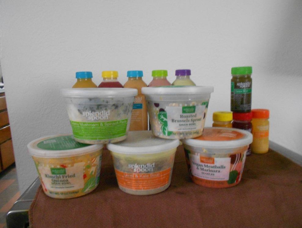 High Protein Vegetarian Meals from Splendid Spoon