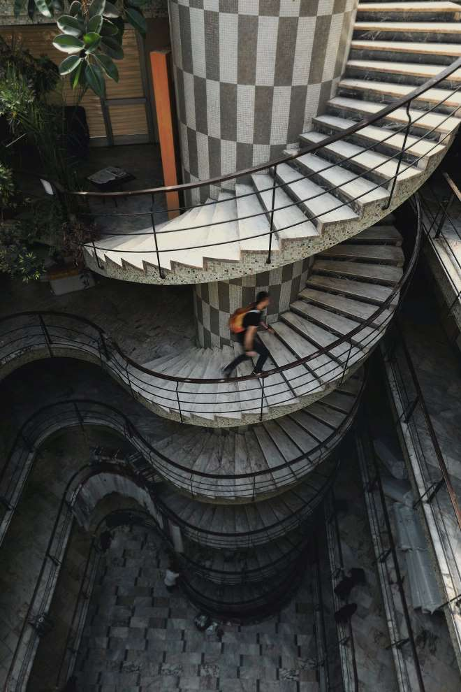 How to Fit  in More Exercise in a Busy Day Walking Stairs