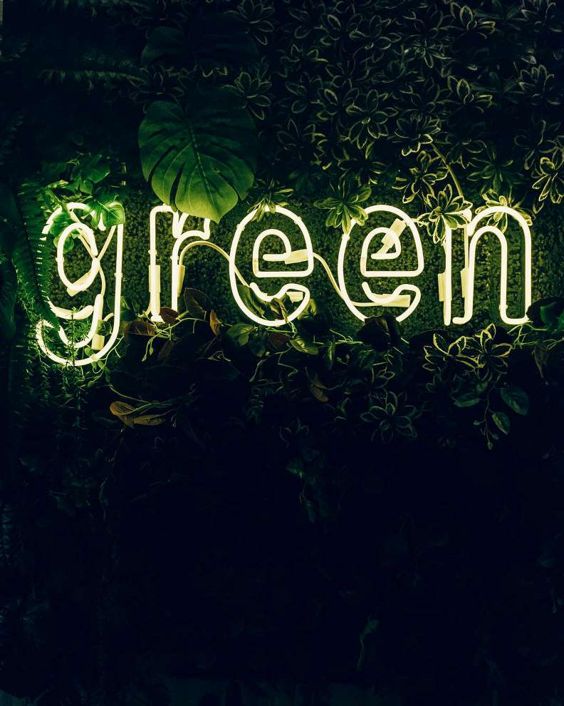 Make Your Home Greener Sign