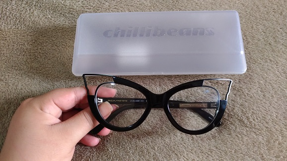 Armação Óculos de Grau estilo mulher gato da Chilli Beans