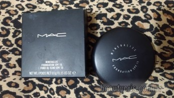base mineralize mac resenha - Base Mineralize Foundation FPS 15 da MAC - Resenha Completa