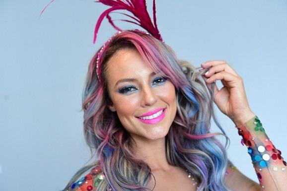 Maquiagem de Carnaval da Paolla Oliveira