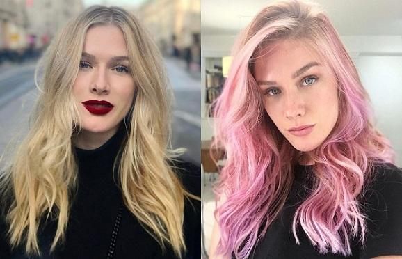 cabelo rosa fiorella mattheis