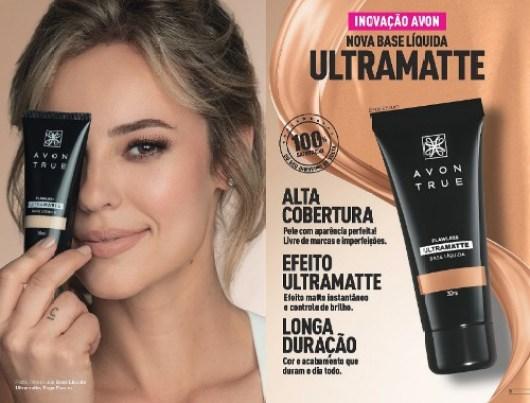 Base Paolla Oliveira Ultramatte mais um lançamento da Avon