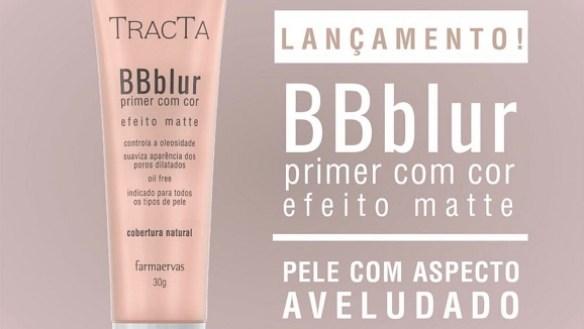 BB Blur Primer com cor da Tracta