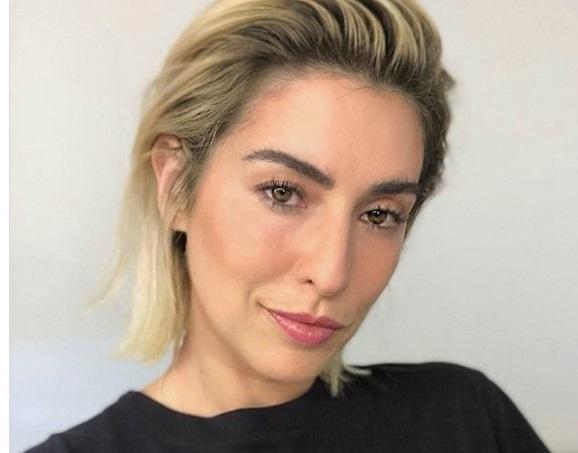 Fernanda Paes Leme corte curto