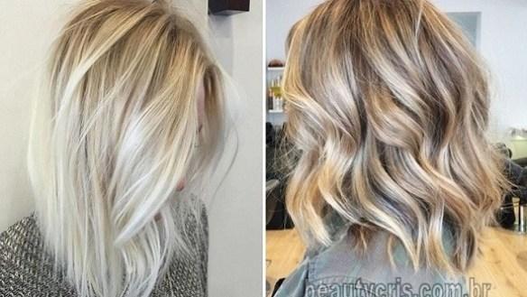 cabelo loiro verão