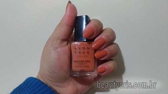Esmalte Canela Vintage Avon True Color