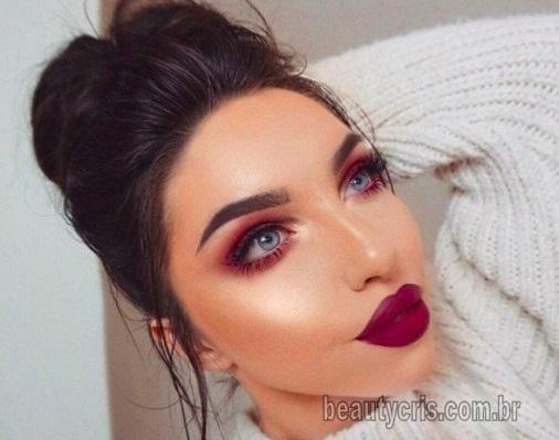 sombra avermelhada beautycris - Sombra Avermelhada é tendência em maquiagem em 2019