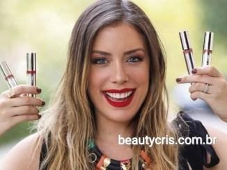 <p>Fabiana Justus, filha do apresentador Roberto Justus lançou uma coleção de batons líquidos com a T. Blogs. Conheça as novas cores!</p>