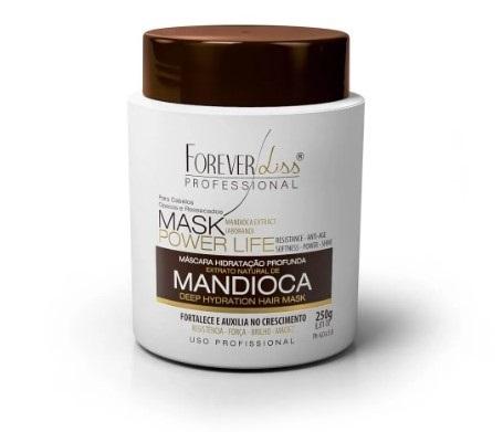 Nova Máscara hidratante de Mandioca Power Life da Forever Liss