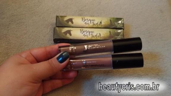 BeautyCris- batons líquidos Elfa e Ninfa do PPF