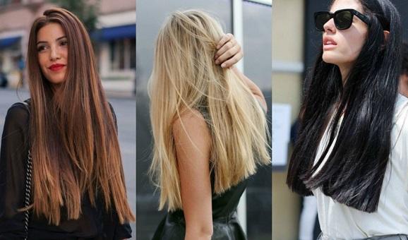 cabelos liso e longo tendencia 2018