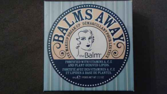 Resenha do demaquilante Balms Away - The Balm