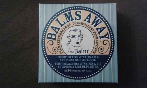 Resenha do demaquilante Balms Away - The Balm