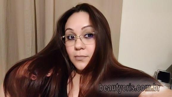 resultado linha deita cabelo