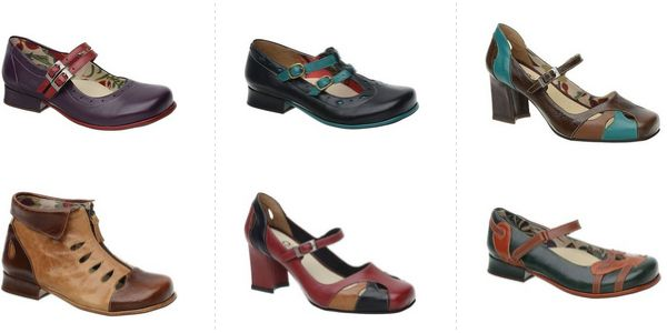 sapatos-femininos-vintage Coleção de Sapatos Retrô – Boneca Vintage