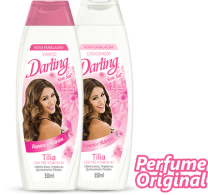 shampoo e condicionador darling - Shampoo e Condicionador Darling Tília