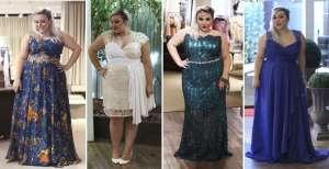 vestido para formatura plus size - Moda Festa para Gordinhas | Roupas para Festas