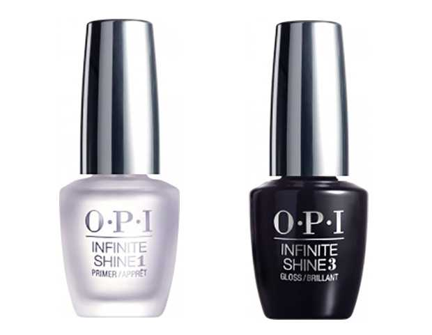 Base e Top coat Opi Infinite Shine