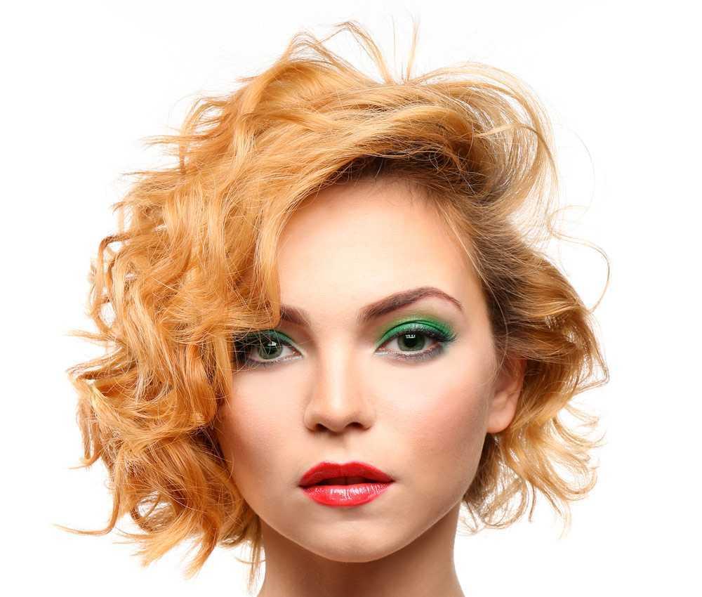 Coupes Courtes Cheveux Bouclés